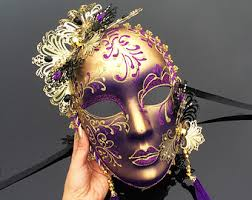ceramic mardi gras masks for sale mardi gras masks etsy
