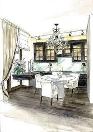 interior design color sketches google search magic marker