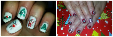 christmas nail art and bornpretty review vanessa taaffe