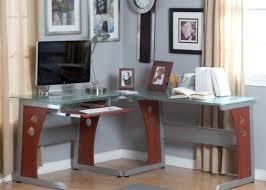 l shaped desk glass infatuate design of l shaped gaming desk hypnotizing best budget