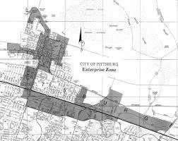 Modesto Ca Zip Code Map by Enterprise Zone Program