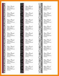 doc 593775 printable address labels free 23 best address