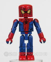 minimate database battle damaged spider man