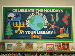 celebrate the holidays around the world at your library bulletin