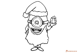 minion coloring pages kids free printable templates