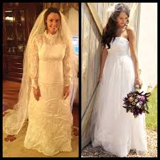 my wedding dresses s vintage wedding dress redesigned before and after