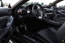 lexus rcf black lexus rc f black di forza bm8 savini wheels