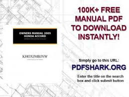 2005 honda odyssey service manual pdf owners manual 2005 honda accord