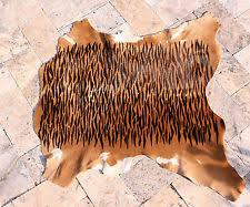 Calf Skin Rug Tiger Skin Rug Ebay