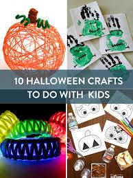 10 halloween crafts to do with kids fun crafts pinterest fun