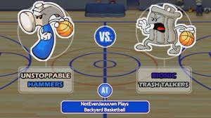 game 17 of backyard basketball unstoppable hammers vs bionic