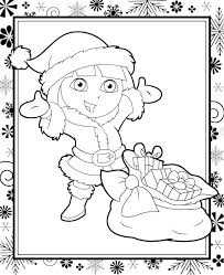 nick jr dora printable coloring pages printable dora coloring pages and coloring pages color pages and