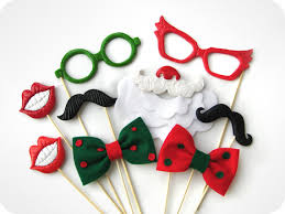 Christmas Photo Booth Props 9 Christmas Photobooth Props On Sticks Perfect By Mistermustache