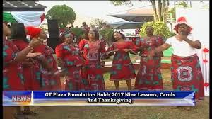 gt plaza foundation holds 2017 nine lessons carols and