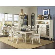 Cottage Style Dining Room Furniture by Pine Island 7 Piece Dining Table Set In Old White Nebraska