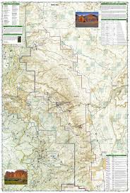 Badlands National Park Map Capitol Reef National Park National Geographic Trails Illustrated