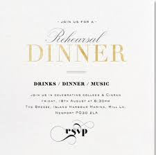 rehearsal luncheon invitations rehearsal dinner invitations with paperless post across