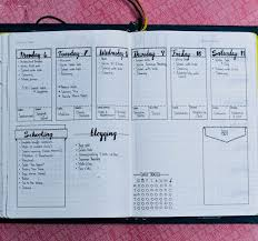 daily layout bullet journal daily weekly and monthly bullet journal layout exles bullet