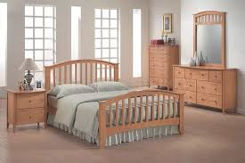 maple bedroom set home bedrooms modern maple finish bedroom set