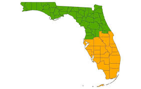 Map Of South Florida Officials Want South Florida To Break Off Into Its Own State