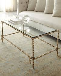 gold and glass table gold plated stainless steel glass coffee table view full size white