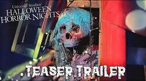 halloween horror nights 2017 fan made teaser trailer youtube