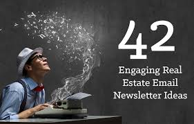 Real Estate Newsletter Template 42 engaging real estate newsletter ideas placester
