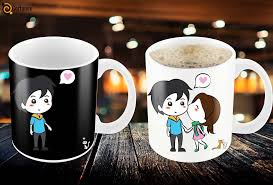 design coffee mug magic coffee mugs heat sensitive color changing coffee mug good