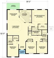floor plan loft house mediterranean bedroom cottage orig cabin small four bedroom house plans home plans ideas