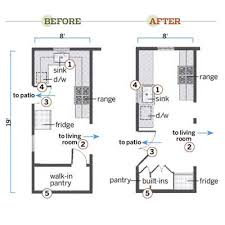Small Kitchen Floor Plans Impressive Charming Small Galley Kitchen Layout Floor How To Lay