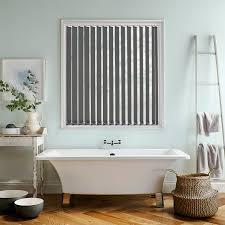 bermuda plain dark grey 89mm vertical blind direct blinds