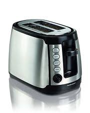 8 Slot Toaster Hamilton Beach Toasters 22811 Keep Warm 2 Slice Toaster Ebay