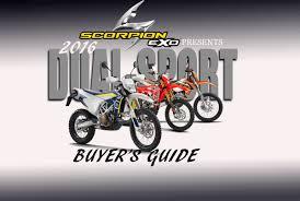 buyers guide dirt bike magazine 2016 dual sport bike buyer u0027s guide