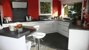 plan de travail cuisine blanc brillant cuisine sur mesure en blanc brillant dans l ain par abema