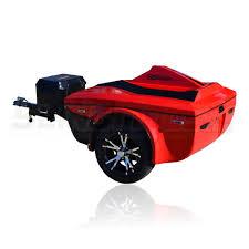 bushtec ss cruiser trailer for the polaris slingshot sling mods