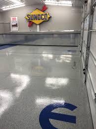 Garage Epoxy Mopar Epoxy Chip Garage Floor Re Deck Of Northwest Ohio Installed