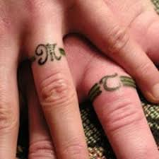 30 unique wedding ring finger tattoos for tattoosera