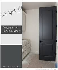 color spotlight wrought iron benjamin moore remodelaholic paint