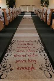 Burlap Wedding Aisle Runner Burlap Monogrammed Aisle Runner Desiree Denton Jenny Denton