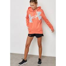 casual latest style under armour favorite exploded logo hoodie