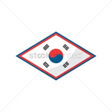 Korea Flag Image Free South Korea Flag Icon Vector Image 1624264 Stockunlimited