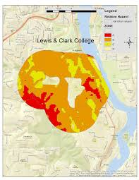 Map Of Portland Or by Close To Home Relative Hazards U0026 Income Surrounding Portland