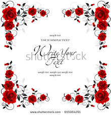 greeting for wedding card wedding card invitation abstract floral background stock vector
