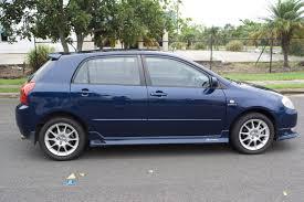 toyota corolla sportivo for sale 2004 toyota corolla sportivo zze123r car sales qld brisbane