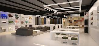 Beautiful Modern Furniture Showroom In On Design - Furniture showroom interior design ideas
