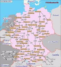 Wiesbaden Germany Map by