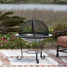amazon com fire sense cocktail fire pit stainless steel