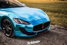 midnight blue maserati dreamwrapsusa our work