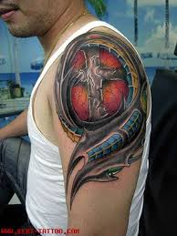tattoos for men on shoulder
