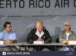 donald trump kw gov ricardo rosello president donald trump and melania trump in
